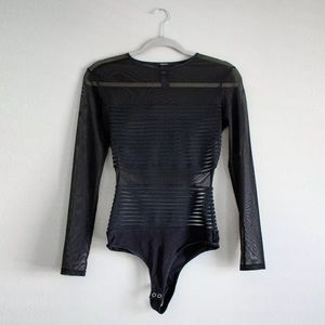 *SOLD* on eBay - NEW Black Sheer Mesh Bodysuit